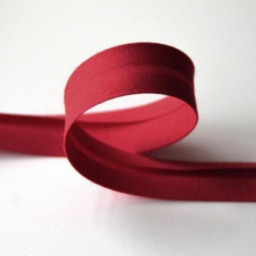 Bies de Algodón 1,8cm - Rojo 46