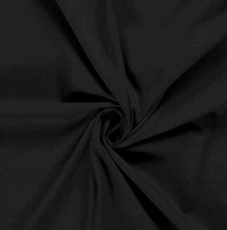 Tela Punto Jersey - Negro