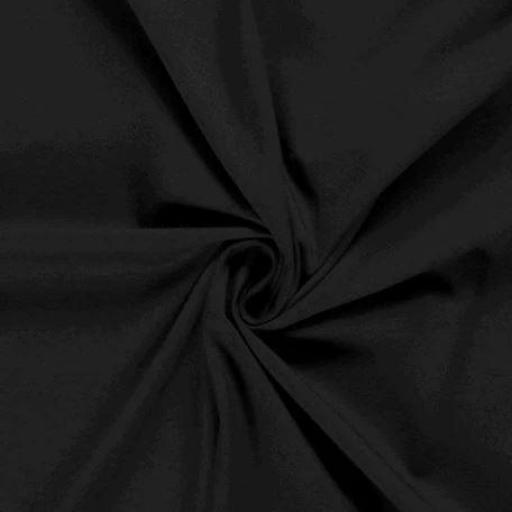 Tela Punto Jersey - Negro [0]