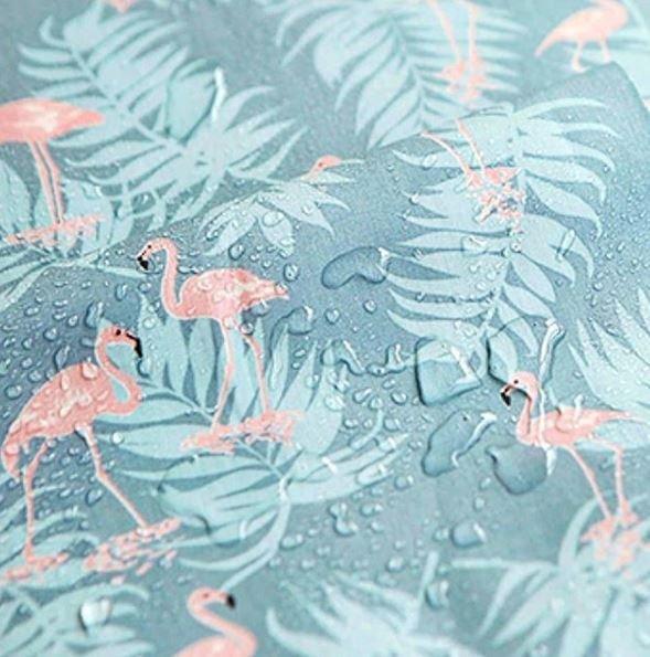 Tela Plastificada Flamingos