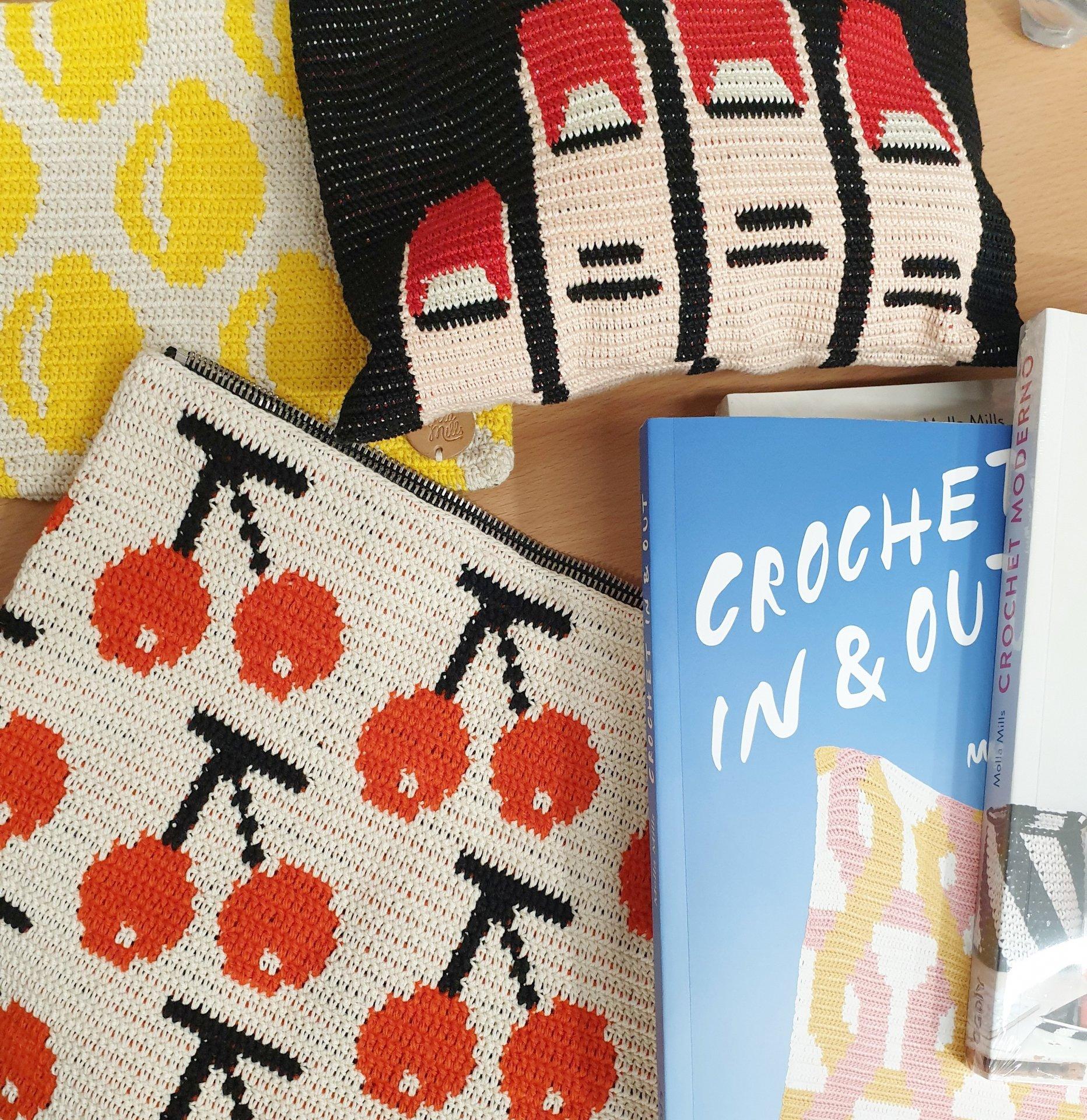 Molla diseños crochet moderno Lola Botona Granollers