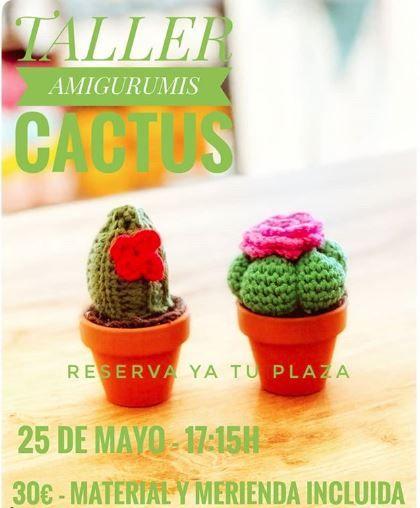 Taller Amigurumis Cactus