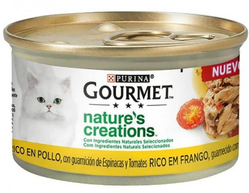 GOURMET NATURE'S CREATIONS Pollo 24x85g