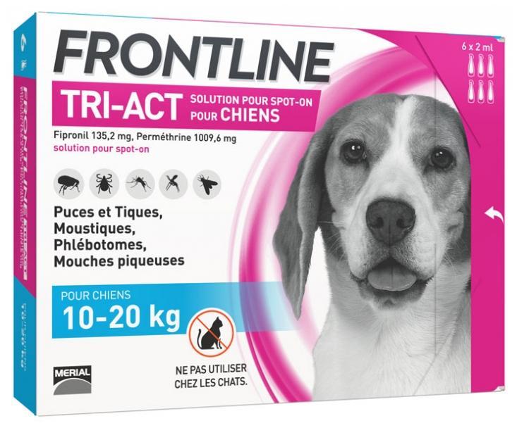 FRONTLINE TRI-ACT PARA PERROS 10-20 KG