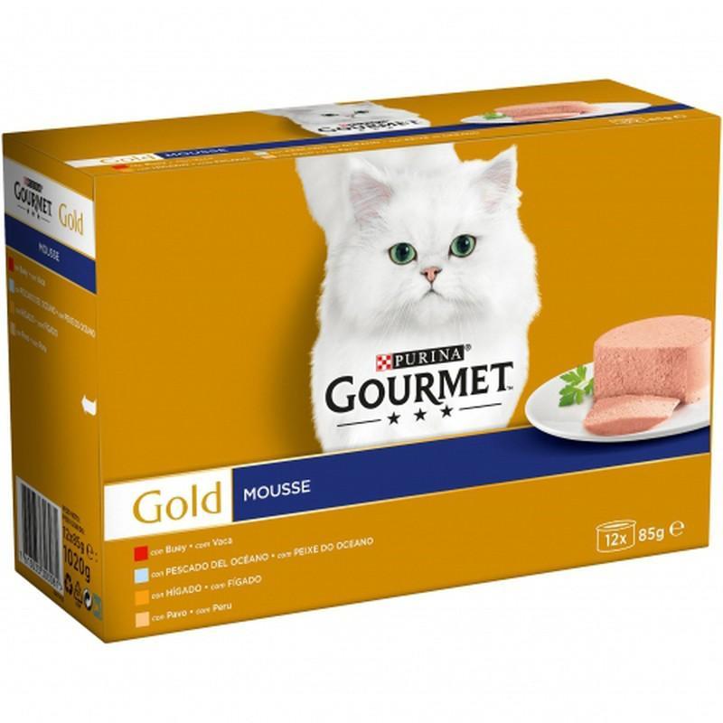 GOURMET GOLD Mse Surtido (12x85g)