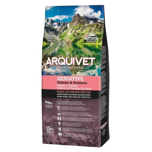 Arquivet Adult Sensitive Salmo&Potato