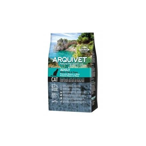 Arquivet Cat Adult white Fish&Tuna 1.5kg