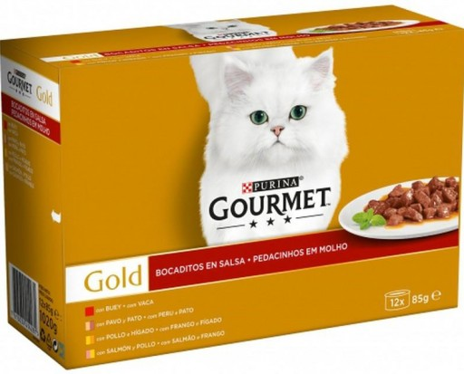 GOURMET GOLD Bocaditos Salsa Surtido (12x85g)