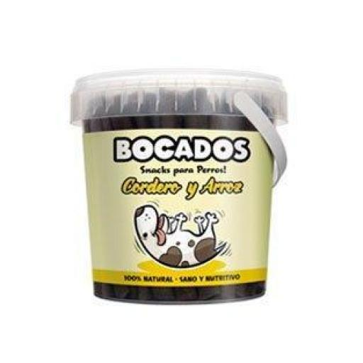 Bocados Cordero y Arroz DingoNatura