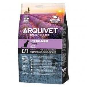 Aqrquivet Cat Sterilized Turkey 1.5kg