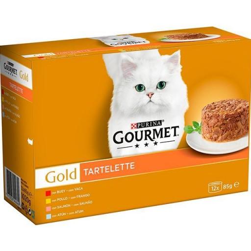 GOURMET GOLD Tartalette (12X85gr)
