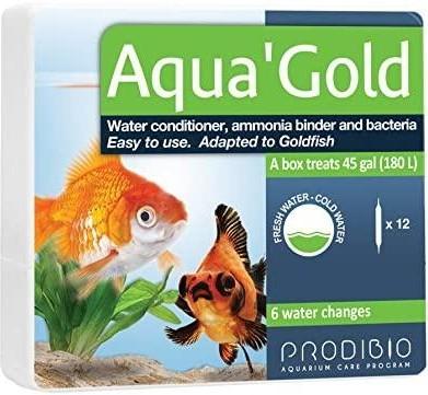 Aqua Gold Acondicionador y Bacterias Para Goldfish 12Uni