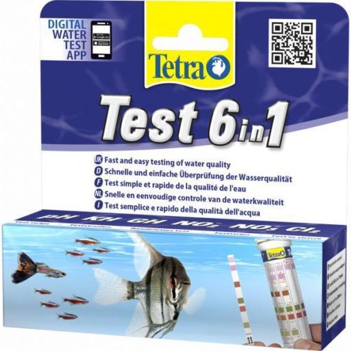 Tetra Test tiras indicador 6 en 1 [0]