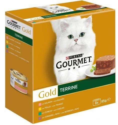 GOURMET GOLD Terrine surtido (8x85g)