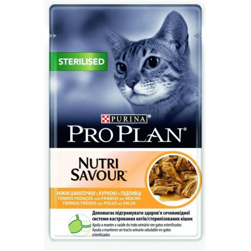 Pro Plan Sterilised Pollo 85gr