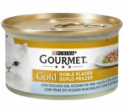 GOURMET GOLD Doble Placer Pescado del Océano & Espinacas  [0]