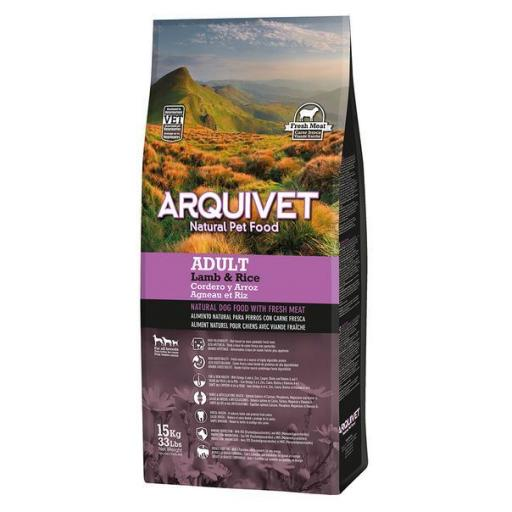 Arquivet Adult Lamb&Rice