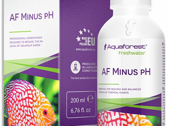 AF MINUS PH AQUAFOREST 200ML - REDUCTOR DE PH PARA ACUARIOS