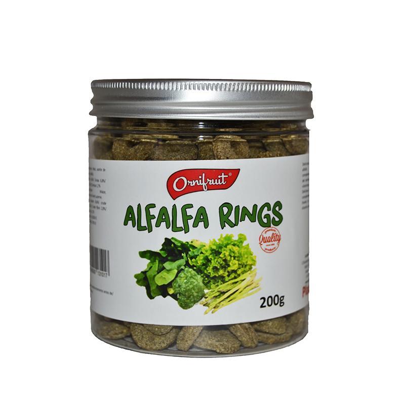 Alfalfa Rings 200gr Ornifruit