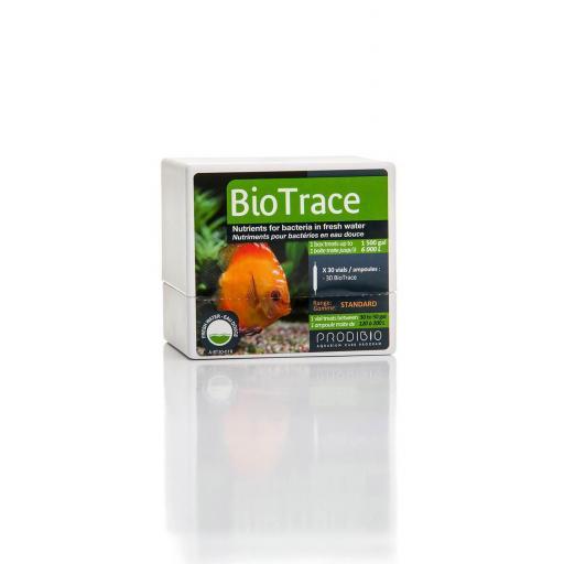BIO TRACE-OLIGOELE 30 AMPOLLAS-Prodibio BioTrace complemento bacteriano para agua dulce.