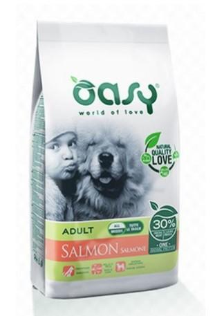 Pienso para perro adulto de salmón, Oasy