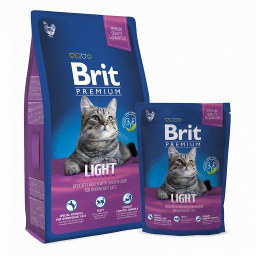 Brit Premium Light para gato adulto