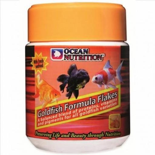 Goldfish Formula Flakes- Ocean Nutrition- Comida en escama [0]