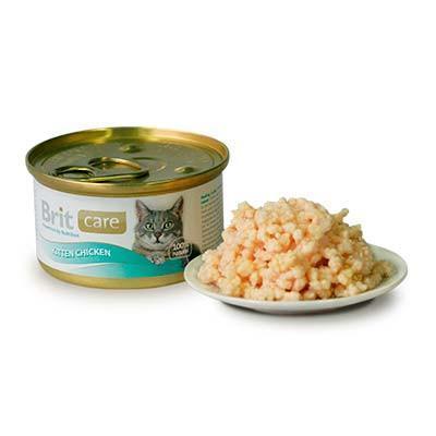 Brit Care gato Kitten Chicken de polllo