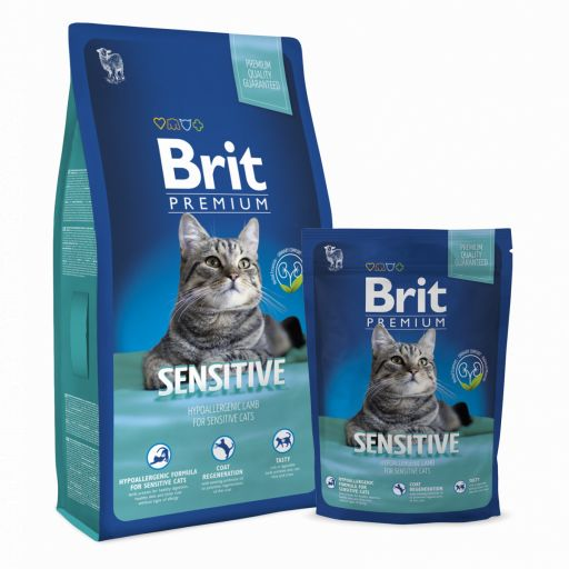 Brit Premium gato Sensitive, de cordero y arroz