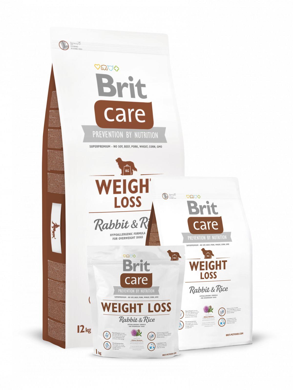 Brit Care Weight Loss Rabbit&Rice pienso de conejo para perros con sobrepeso