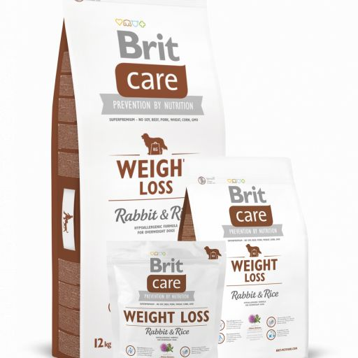 Brit Care Weight Loss Rabbit&Rice pienso de conejo para perros con sobrepeso