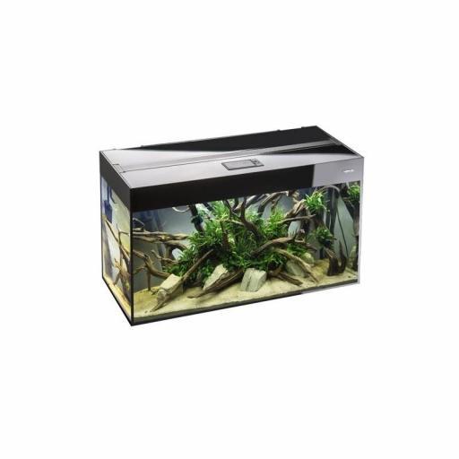 Acuario Aquael Glossy Negro 80- 125 Litros