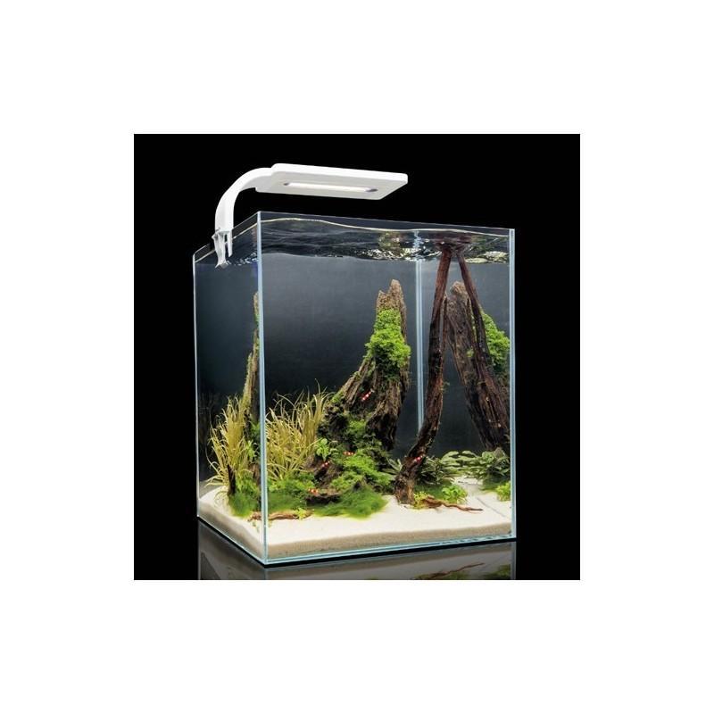 Aquael Acuario Completo Shrimp Blanco 10 - 10 Litros