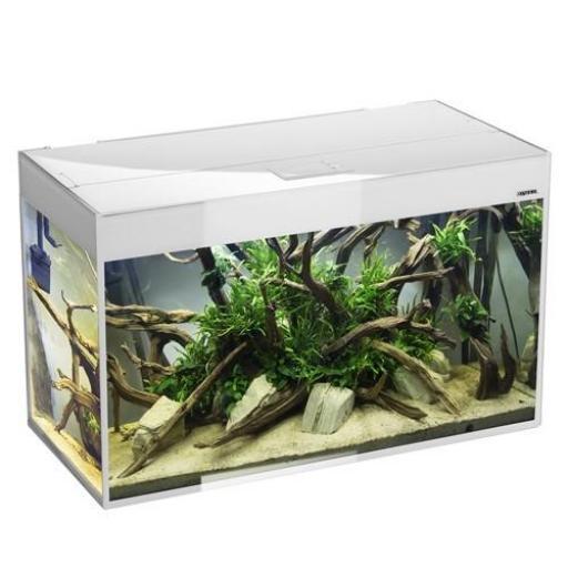 Acuario Aquael Glossy Blanco 150 -405Litros