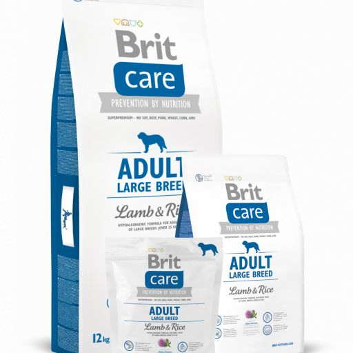 Pienso para perro adulto de cordero+arroz, Brit Care