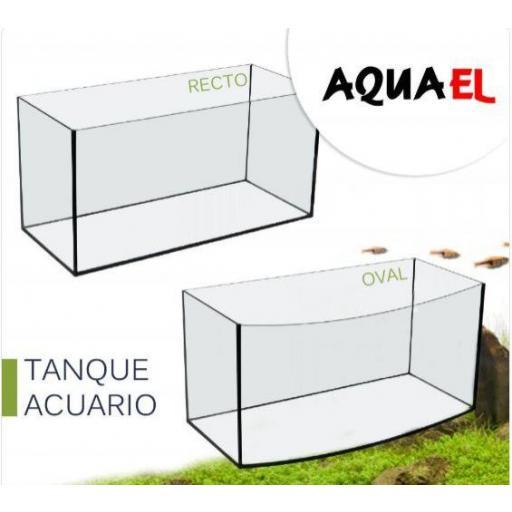 Tanque Acuario Oval Aquael 60cm 45 Litros [1]