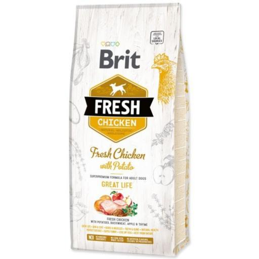 Brit Fresh Pollo y patata ADULTO great life
