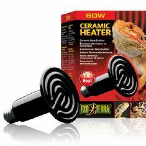 Ceramic Heater, Emisor Térmico De Cerámica, Exo Terra