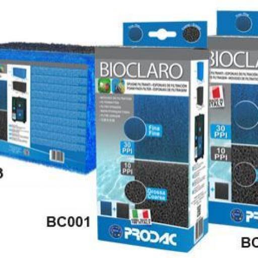 Bioclaro Esponja para Filtro de Acuario