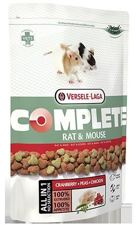 Rat/Mouse Complete 500 G Versele Laga para ratones