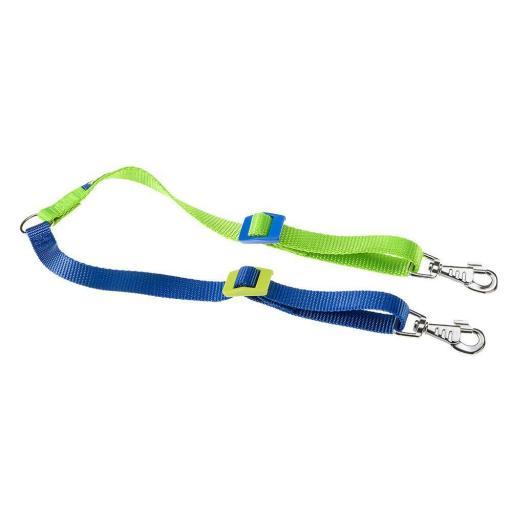 Correa Twin Color, Azul Y Verde, Ferplast
