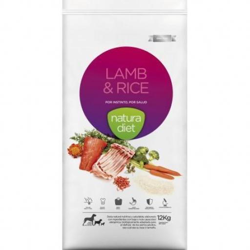 Natura Diet Lamb & Rice de Cordero