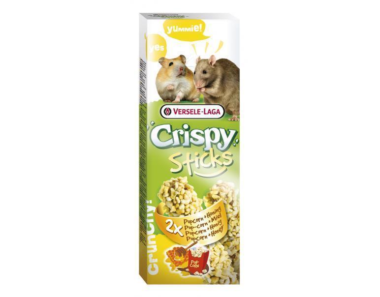 Crispy stick hamster Palomitas de Maíz y Miel, Versele-Laga