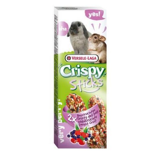 Crispy Stick conejo/chinchilla Frutas del Bosque Versele-Laga