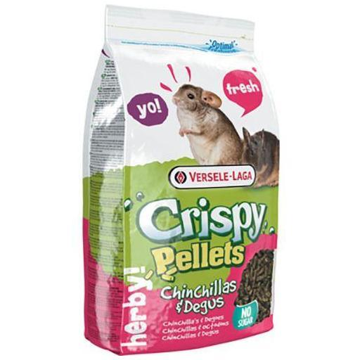 Crispy Pellets Chinch/Degu 1kg Versale Laga para chinchilla y degus