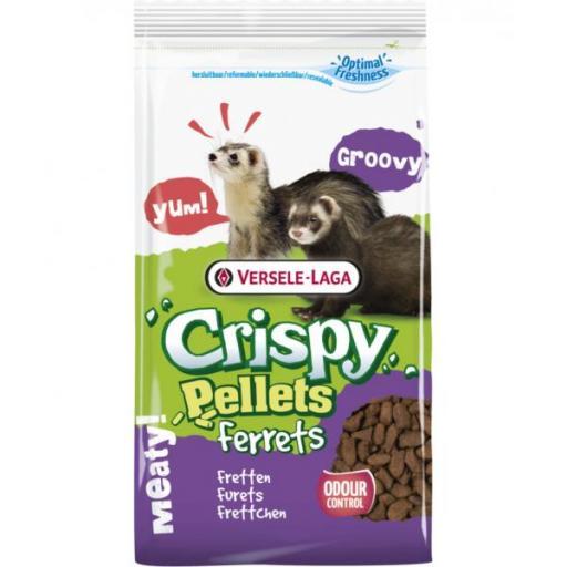 Crispy Pellets Ferret Pro 3kg Versele Laga para hurón