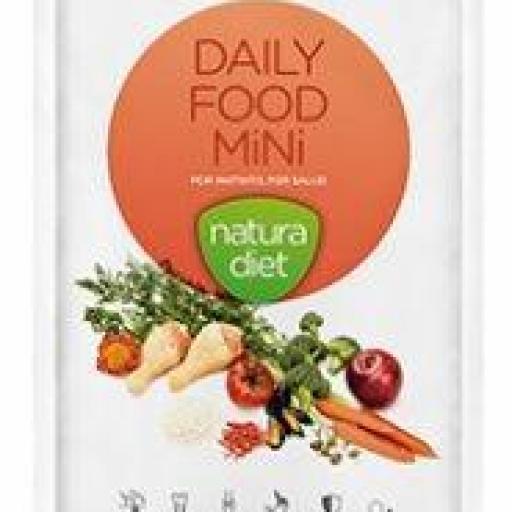 Natura Diet Daily Food Mini, para razas pequeñas