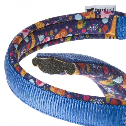 Collar Daytona Azul Con Dibujo Interior, Ferplast [1]
