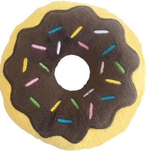 Peluche para Perro Dunut Chocolate