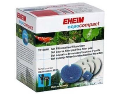 Set almohadillas filtro Eheim Aqua Compact